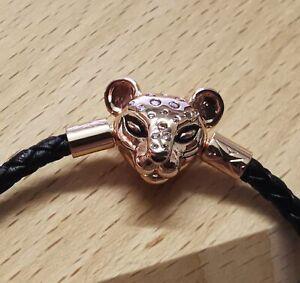 "Pandora ROSE Bracelet 588053CBK Sparkling Lion Princess Size S1 6.8"" ALE MET"