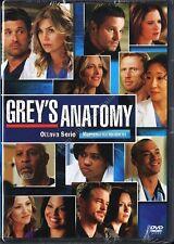 GREY'S ANATOMY STAGIONE 8 - COFANETTO 6 DVD NUOVO!