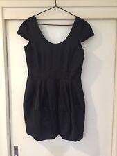 Bardot Ladies Black Dress Size 14 Good Condition