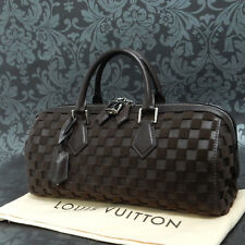 Rise-on  LOUIS VUITTON Damier Cubic Speedy EW Brown Handbag Satchel Purse #1