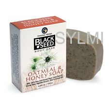 NATURAL Herbal BLACK SEED OATMEAL & HONEY SOAP Bar Cumin/Coconut/Palm/Olive Oil