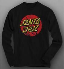 "Santa Cruz ""Distressed Logo"" Long Sleeve T Shirt"