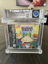New Sealed Playstation 1 PS1 Wata Graded 9.6 A+ Game Rugrats Search For Reptar