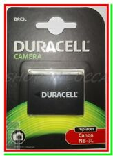 Batteria Ricaricabile DURACELL DRC3L = Canon NB-3L x IXUS 750 IXY 700 SHOT SD550