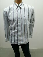 Camicia TOMMY HILFIGER Uomo Shirt Man Chemise Homme Cotone Taglia Size XL 8086