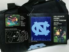 Licensed UNC Collegiate Picnic Tote/Throw by The Northwest Company Free Shipping