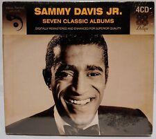 Sammy Davis Jr. : SEVEN CLASSIC ALBUMS  4 CD set.  NEW !  SEALED !  NIP!  NICE !