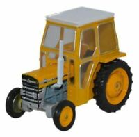 Massey Ferguson 135 Yellow Tractor Diecast Model 1:76 Scale OO Gauge Oxford NEW