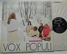 LES SINNERS Vox Populi CANADA 1968 1st Press GARAGE PSYCH FUZZ FREAK QUEBEC LP