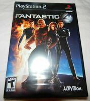 FANTASTIC FOUR PS2 GAME BLACK LABEL NEW SEALED MARVEL SUPER HERO