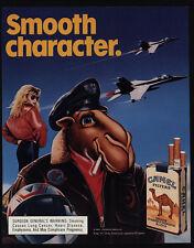 1988 CAMEL Cigarettes - Joe - Fighter Jets - Aviator Jacket - Pilot - VINTAGE AD