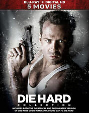 PRE  ORDER: DIE HARD 5-MOVIE COLLECTION - BLU RAY - Region A - Sealed