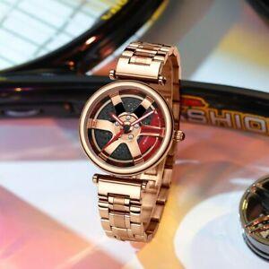 Luxury Super Car Rim Watch Waterproof Wristwatches Xmas Gifts For Her Wife Women