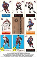 2012-13 OPC O-Pee-Chee Retro Colorado Avalanche Master Team Set (18)