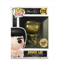 SDCC 2018 BAIT Exclusive Funko Pop Bruce Lee Gold Figure #218