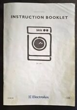 Electrolux EW1200i Washing Machine Washer Dryer Instruction Book Booklet Guide