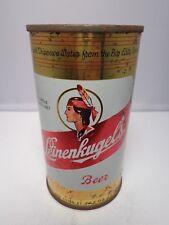 LEINENKUGELS FLAT TOP BEER CAN #91-13 CHIPPEWA FALLS, WISCONSIN  INDIAN