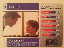 Moneypenny #3 Allies - 007 James Bond Spy Files Card