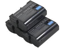 new 3pcs Battery EN-EL15 EL15e for D610 D7000 D7100 D750 D800 D810 ENEL15