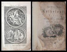 15 Gravures Allégoriques  -Kurzgefasste Mythologie oder Lehre MYTHOLOGIE GRECQUE