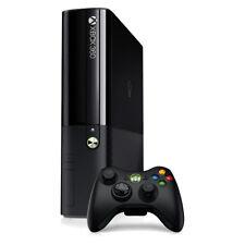 Microsoft Xbox 360 E - 500 GB Black Console