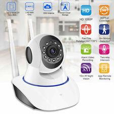 1080P Wireless Wifi IP Camera CCTV Security Webcam Baby Monitor IR CAM Pan/Tilt