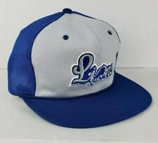 Vtg Detroit Lions NFL Snapback Rope Trucker Bat  Cap football 90s