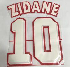 France Zinedine Zidane number 10 1998 World Cup Home shirt jersey Printing