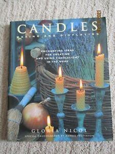 CANDLE MAKING & DISPLAYING BOOK