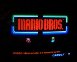 MARIO BROS - Nintendo Arcade - MAIN LOGIC PCB SET - WORKING 100% -