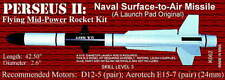 PERSEUS II  NAVAL SURFACE-TO-AIR MISSILE K0062 THE LAUNCH PAD