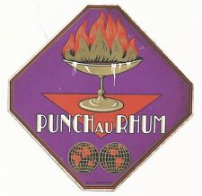 1930's Punch Au Rhum Label - France