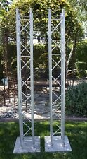 """Pair of Global Lighting Trusses (6 ft Totems) -15"""" x 15"""" heavy metal bases"""