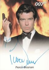 James Bond Mission Logs, Pierce Brosnan 'James Bond' Autograph Card