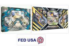 Mega Beedrill Ex Box + Snorlax Gx Pokemon Tcg Booster Boxes Factory Sealed