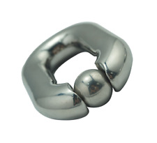 *** STAINLESS STEEL BALL WEIGHT TESTICLE STRETCHER 440G BONDAGE CBT FETISH ***