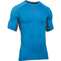Under Armour Mens CoolSwitch Short Sleeve Compression Shirt BRILLIANT BLUE, Med