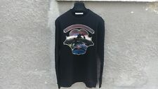 $725 GIVENCHY Hawaii Crest Imprimé Rottweiler Shark sweater taille M (Relaxed fit)