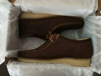 Clarks Originals ** Desert London ** Bienenwachs Leder ** UK 12 F