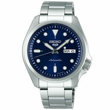 Seiko 5 Sports Automatic Blue Dial Silver Steel Men's Watch SRPE53K1 RRP £230