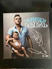 "Morrissey ""Years Of Refusal"" Autographed Philadelphia 3/22/2009 3/30"