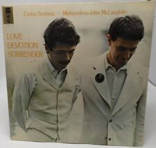 "Carlos Santana and Mahavishnu John McLaughlin ""Love Devotion Surrender"" LP"