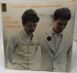 "Carlos Santana and Mahavishnu John McLaughlin ""Love Devotion Surrender"" LP"
