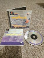 Wipeout - Sony PS1 Game - COMPLETE & RARE - Private Seller - Fast & Free P&P!