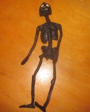 Rubber monster Jiggler 1960s black Skeleton