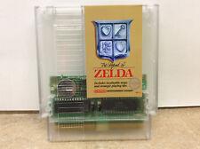 Custom The Legend of Zelda Nintendo NES Game Clear cartridge genuine game