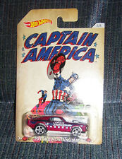 Hot Wheels CAPTAIN AMERICA SERIES '70 Mustang Mach 1, 2/8 2016 Walmart MARVEL
