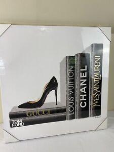 Gucci Louis Vuitton Tom Ford Chanel YSL decor picture Acrylic Canvas 30x30