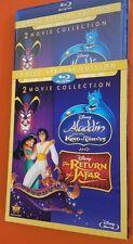 Disney Aladdin Return of Jafar (2) King of Thieves (3) Blu Ray DVD Digital NEW