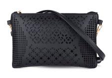 Small Black Leather Women Crossbody Body Women Shoulder Bag Ladies Messenger Bag